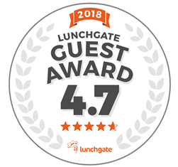 lunchgate guest award